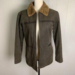 BKE VINTAGE Leather Coat-M